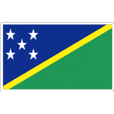 Solomon Islands Flag Sticker
