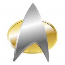 Star Trek Badge Decal Sticker