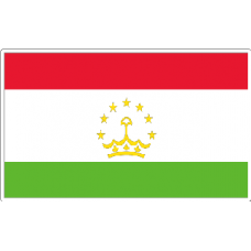 Tajikastan Flag Sticker