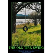 the old tire swing kids are wussy