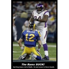 the rams suck st louis rams football nfl funny motivational demotivational