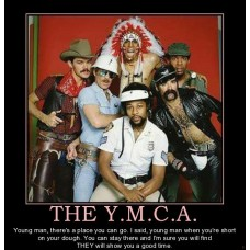 the ymca i call dibs on the indian