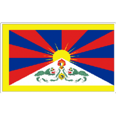 Tibet Flag Sticker