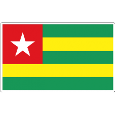 Togo Flag Decal