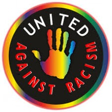 united against racism sticker