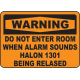 Warning Signs and Labels 7