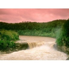 Waterfalls and Rivers Wall Decals 018