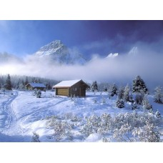 Winter and Ice Adhesive Wall Decals 013