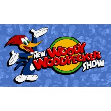 Woody woodpecker banner sticker