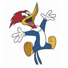 Woody Woodpecker Color Sticker