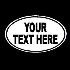 ! Your Text Here Decal