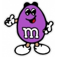 M&M PEANUT PURPLE