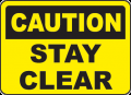 Caution Signs and Labels