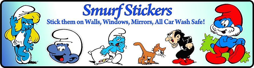 Smurf Decal Colors
